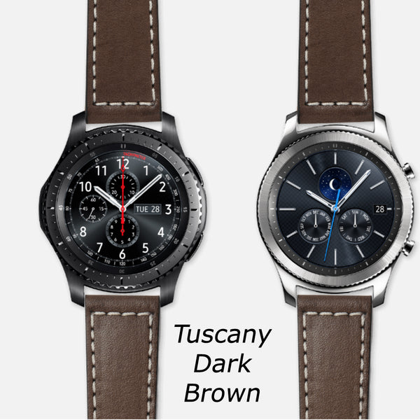 Strap STUDIO Leather Strap for Samsung Gear sport / S3 Smartwatch