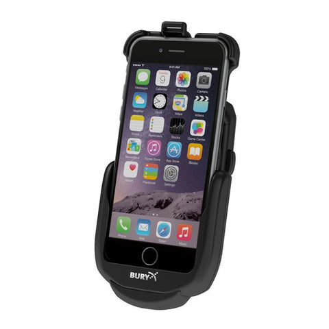 Bury System 9 car cradle for iPhone 7/6s/6