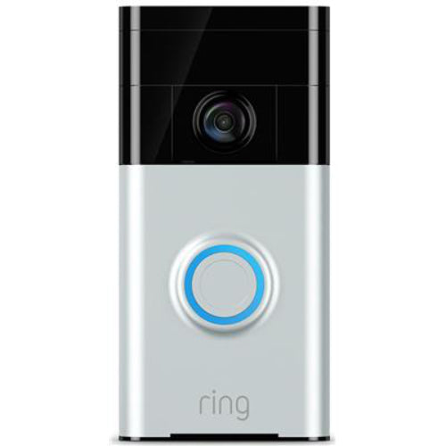 ring HD video doorbell smart intercom with 2 way audio mobile app and cloud storage