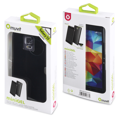 Muvit Samsung Galaxy S5 minigel case black