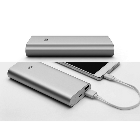 Genuine Xiaomi Mi 16000 mAh Portable USB Power Bank Battery Charger