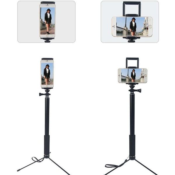 "5""-11"" Smartphone & Tablet Tripod Stand 1.5m High for Instruction Video Zoom or Skype with Waterproof Bag"