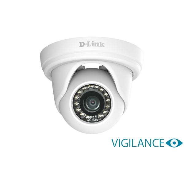 D-link 16-Channel PoE Surveillance Camera Kit with NVR & 4 x FHD dome IP Cameras