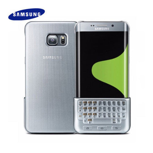 buy online e3e6e aa65f Genuine QWERTY Keyboard Cover for Samsung Galaxy S6 Edge Plus
