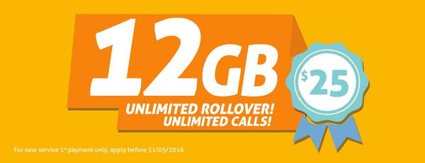 E.Tel $30 Unlimited Call 4G/LTE SIM Starter Pack