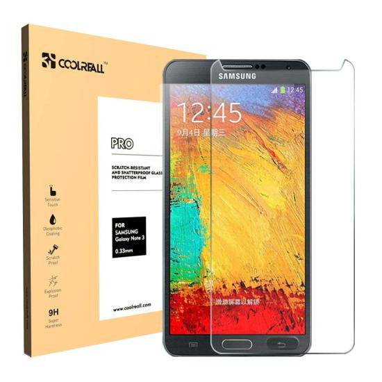 CoolReall™ For Samsung Galaxy Note 3 N9000 5.7 INCH Tempered Glass Screen Protec