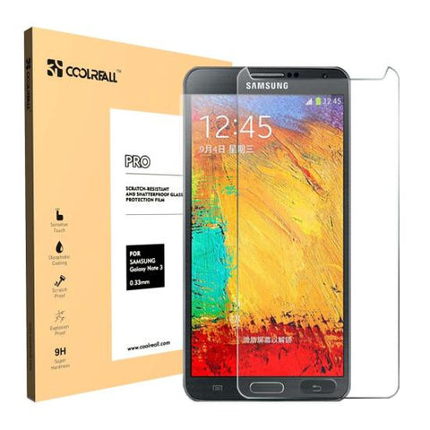 CoolReall™ For Samsung Galaxy Note 3 N9000 5.7 INCH Tempered Glass Screen Protector Film(0.33mm)