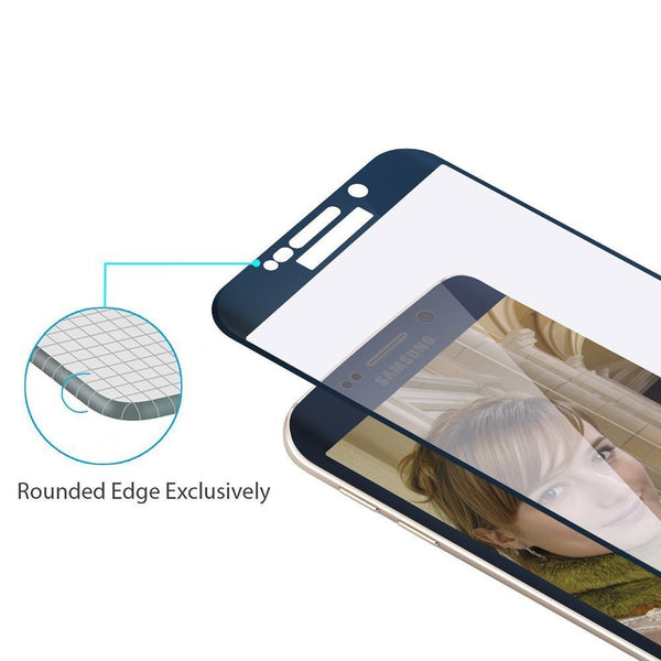 COOLREALL™ Samsung Galaxy S6 edge Tempered Glass with 3D Curve screen