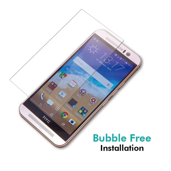 CoolReall™ For HTC ONE M9 Tempered Glass Screen Protector (0.33mm HD Ultra Clear