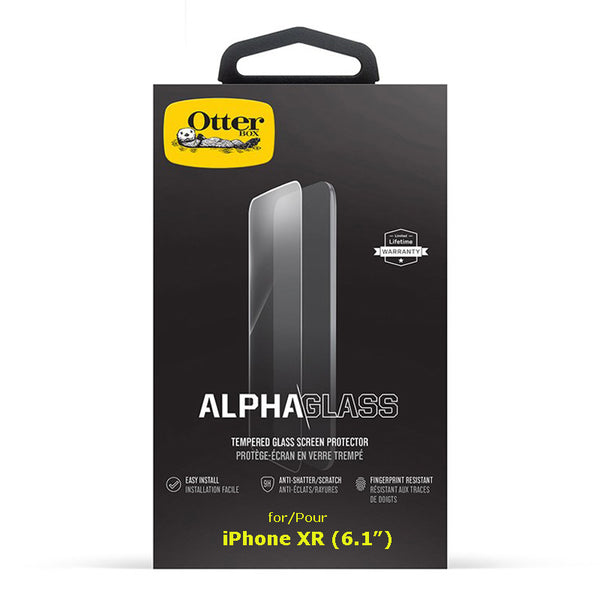 "Otterbox Alpha Glass  for iPhone X / Xs (5.8""), Xs Max(6.5"") and XR(6.1"")"