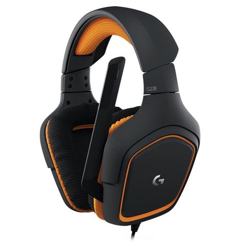 Logitech G231 Prodigy Stereo Gaming Headset with Noise-cancelling Foldable Mic