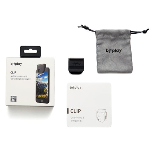 Bitplay Clip only for your iPhone X, 8, 7, 6s and 6