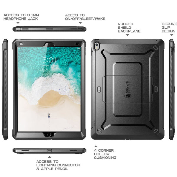 SUPCASE Unicorn Beetle PRO Series Full-body Rugged Protective Case for Apple iPad Pro 12.9 inch
