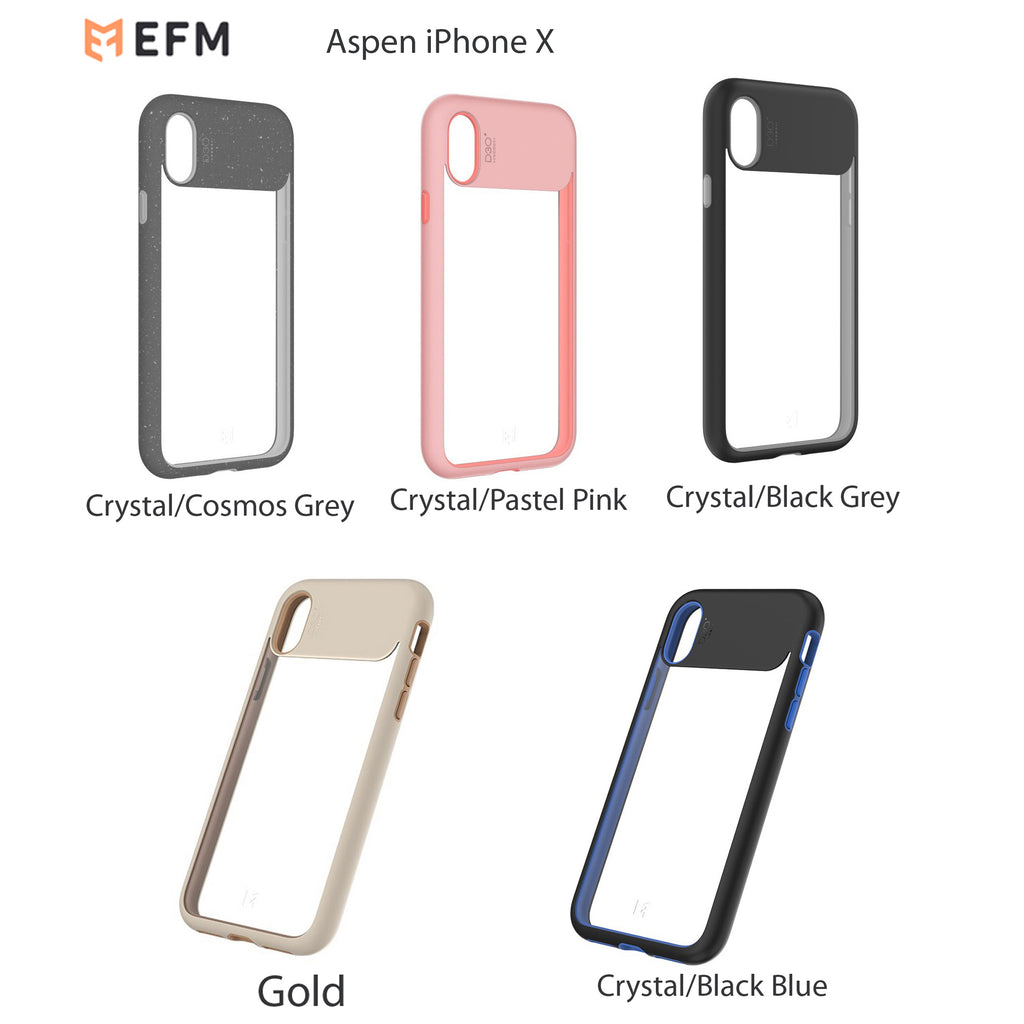 official photos 2ffcd f4f31 EFM ASPEN D3O Case Armour for Iphone X Drop Proof