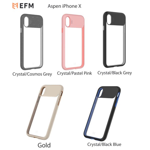 EFM ASPEN D3O Case Armour for Iphone X Drop Proof