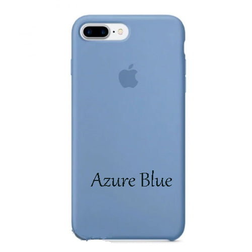 SOFT SILICONE CASE COVER  FOR IPHONE 8/7 PLUS