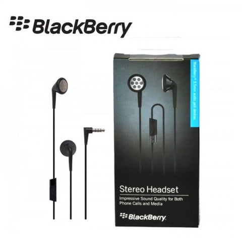 Blackberry Impressive Sound Quality 3.5mm Stereo Headset