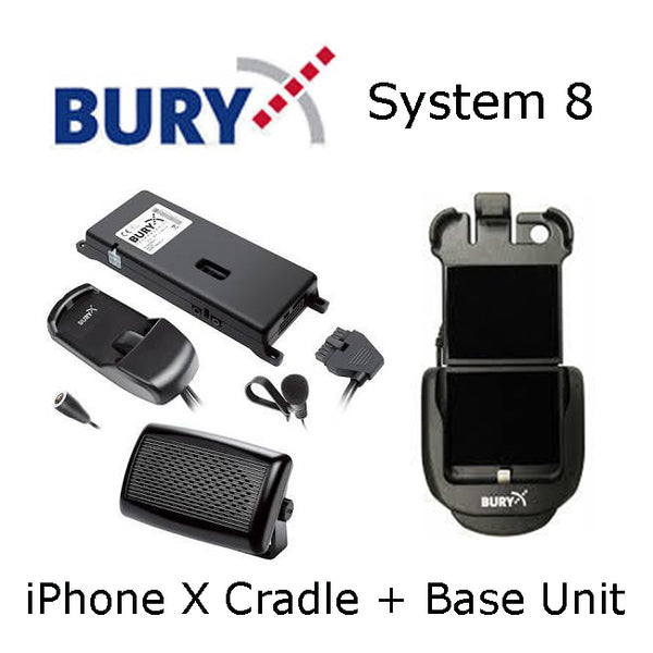 Bury system 8 iPhone X/Xs Cradle and/or Bury System 8 Base unit