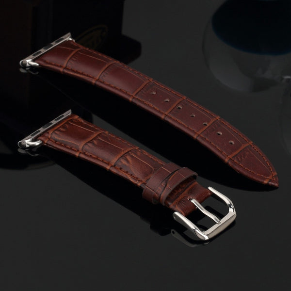 42mm Leather Band with Link for Apple Watch