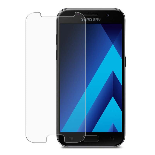 Cleanskin Tempered Glass Screenguard For Galaxy A5 (2017)-Clear