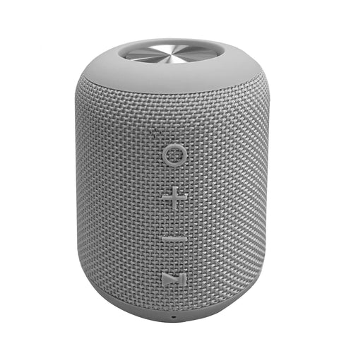 EFM Indio Wireless Bluetooth Speaker With Micro-USB Cable-Alloy Grey