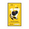 EFM Dual USB Car Charger 3.4A  With Mfi Lightning Cable-Black