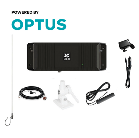 Cel-Fi GO2 Optus mobile signal booster for Boats (Marine Pack)
