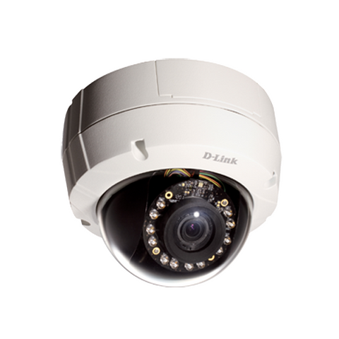 D-Link DCS-6513 3MP Day/Night Outdoor Vandal Proof IP Camera