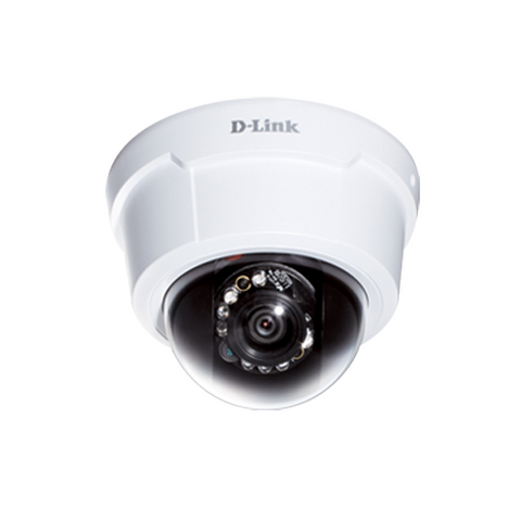D-Link DCS-6113V Full HD Day & Night Vandal-Proof Dome Network Camera