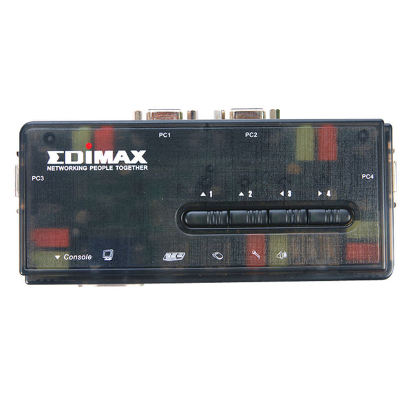 Edimax EK-UAK4 350MHz High Bandwidth 4 Ports USB KVM Switch
