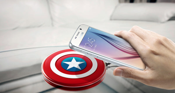 Samsung Galaxy wireless charging Pad Avenger Edition
