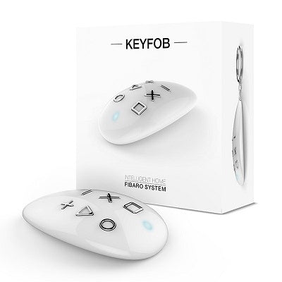 FIBARO Z-Wave KeyFob batttery powered remote control for your home