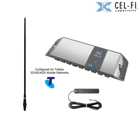 Cel-Fi GO Mobile Telstra signal Repeater - with optional antenna