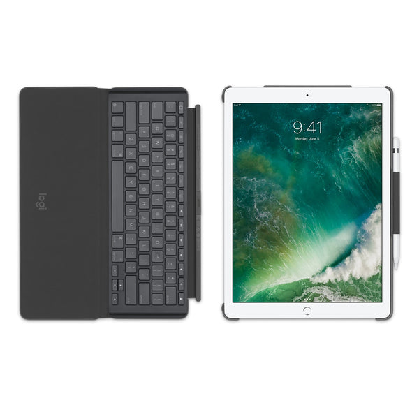 "Logitech Slim Combo Detachable Smart Back-lit Keyboard for iPad Pro 12.9"" (1st n 2nd Gen)"