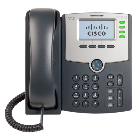 Cisco SPA508G 8-Line IP Phone with Backlit LCD Display PoE and PC passthrough port