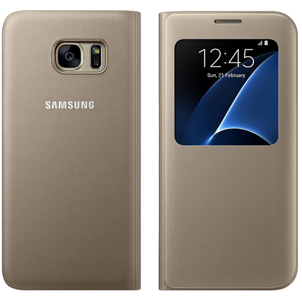"Original Samsung Galaxy s7 Edge S View Cover (5.5"")"