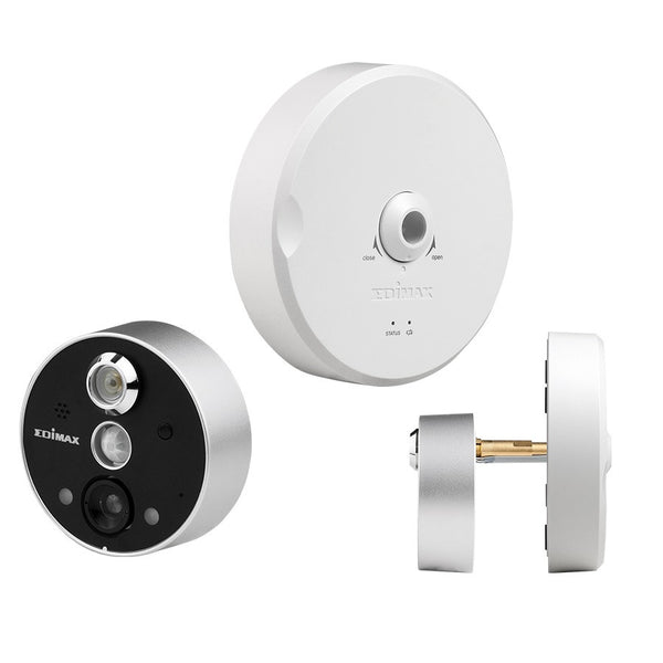 EdiMax IC-6220DC Day & Night Wireless On-Door Peephole video intercom