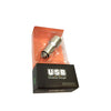 Universal Dual USB port 3.1A Full Metal Car Charger for mobile devices