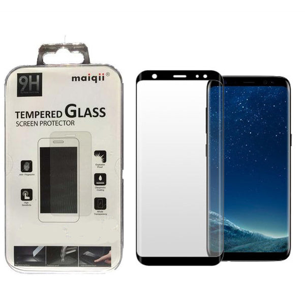 MAIQII™ Samsung Galaxy S8 3D Curved Tempered Glass Screen protector