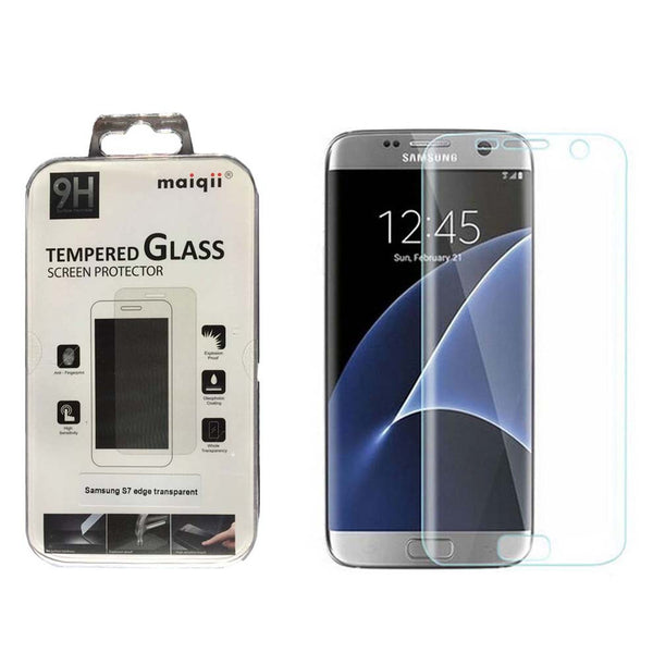 MAIQII™ Samsung Galaxy S7 Edge 3D Curved Tempered Glass Screen protector