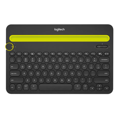 Logitech K480 Bluetooth Multi-Device Keyboard for tablet and mobile