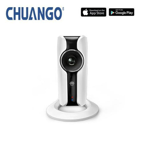 CHUANGO IP116 plus HD WiFi IP indoor camera with smartphone app