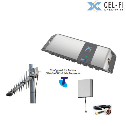 Cel-Fi GO Stationary Telstra signal Repeater - with optional antenna