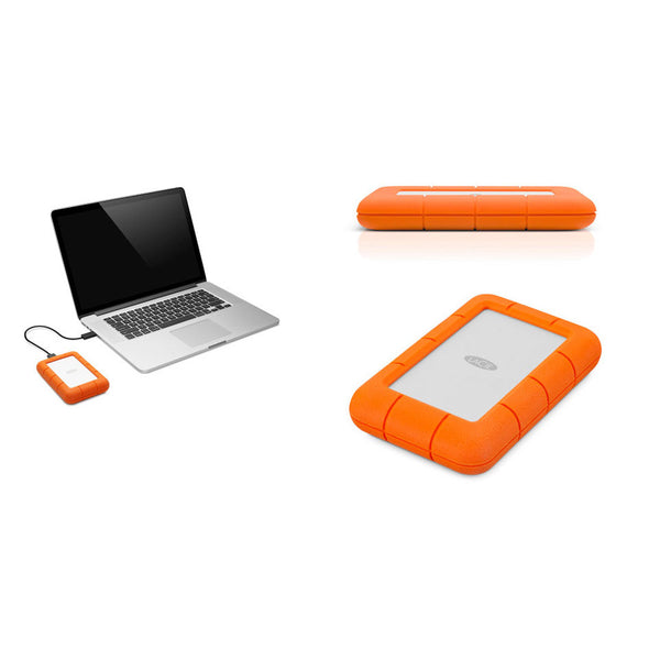 Rugged Thunderbolt USB 3.0 External Drive for PC -1/2TB from LaCie