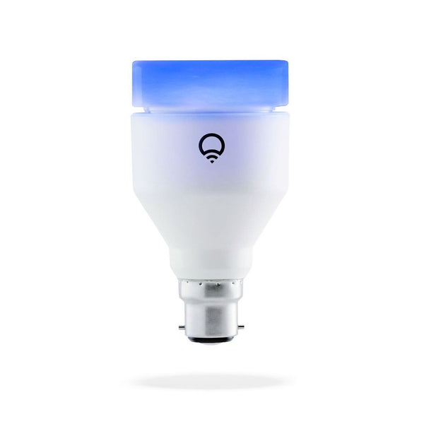 LIFX Bayonet B22 Multi-Color Smart LED light Bulb with App Controler