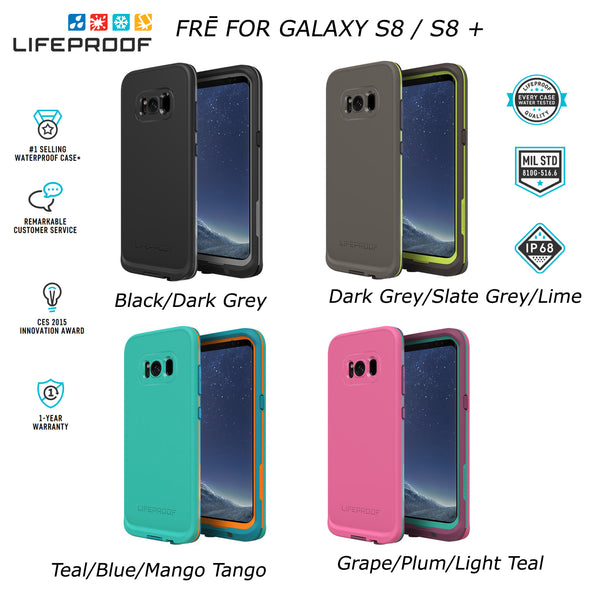 official photos fe31e 68bd2 LifeProof Fre WaterProof SnowProof Rugged Case Suit Samsung Galaxy S8 & S8+