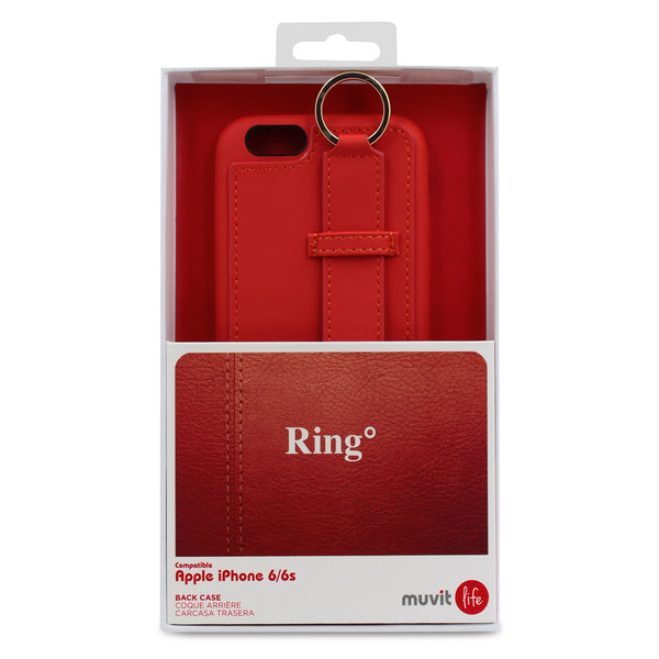 Muvit Life Ring Back Case For iPhone 6 Plus 6s Plus
