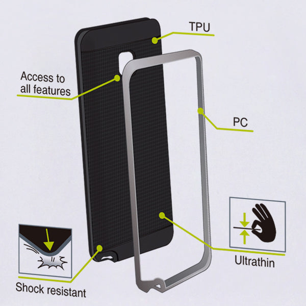 Muvit duomat shock resistant case for Samsung Galaxy Note 5