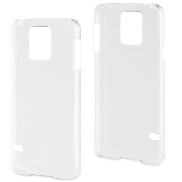 Muvit MUCRY0025 Clear Back Case for Samsung Galaxy S5 or S4 MUCRY0019