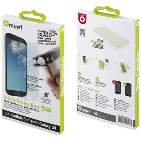 Muvit tempered Glass screen protection for Samsung Galaxy S4